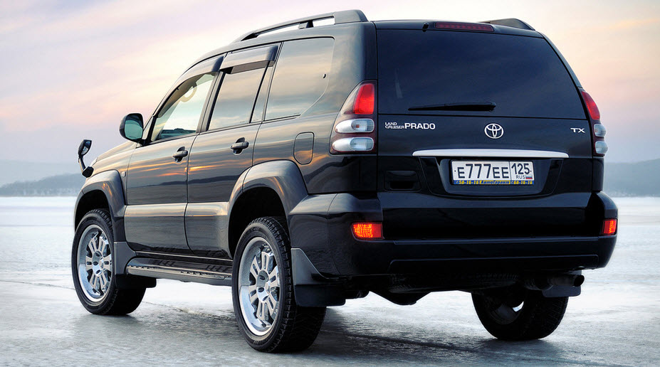 Тойота Prado 120 замена масла в АКПП