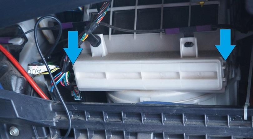 меняем салонный фильтр на аутлендере: фото 2