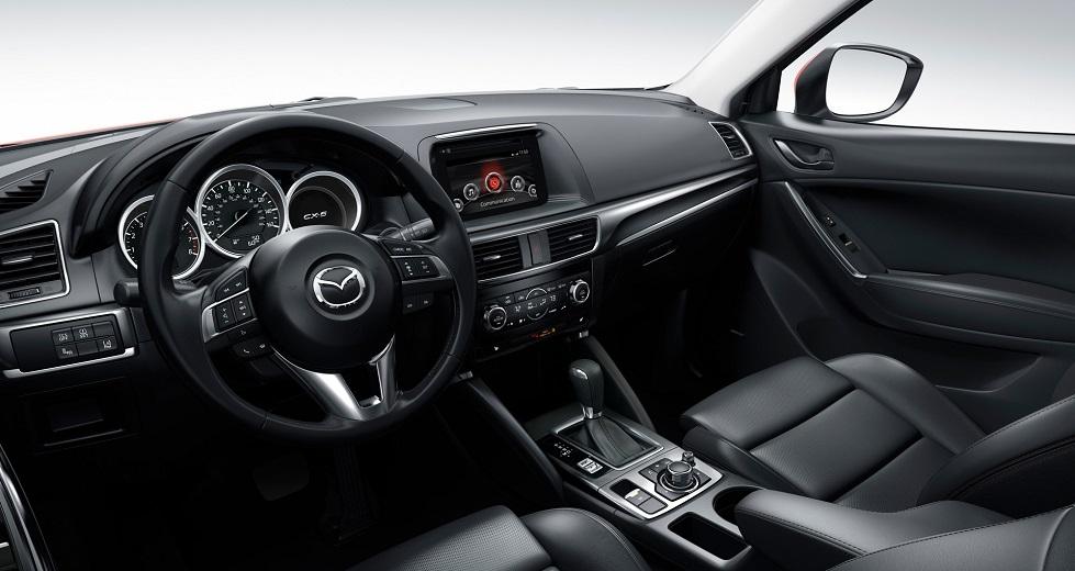 mazda CX-5 2015 передняя панель