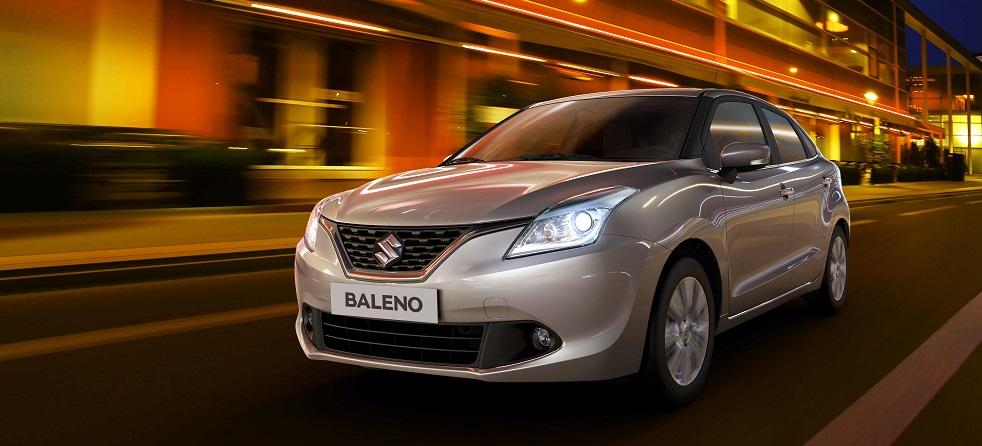 Новый хэтчбек Suzuki Baleno 2016