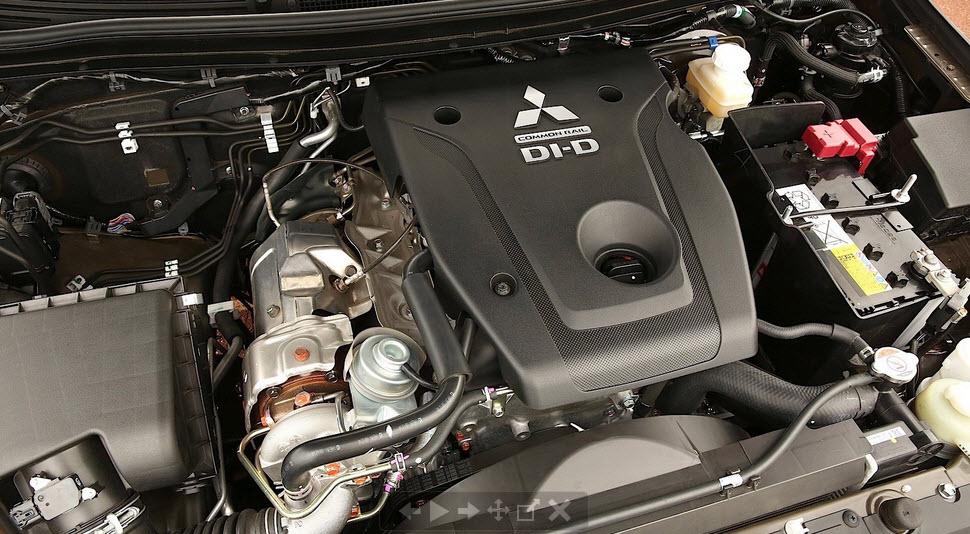 Mitsubishi L200 под капотом