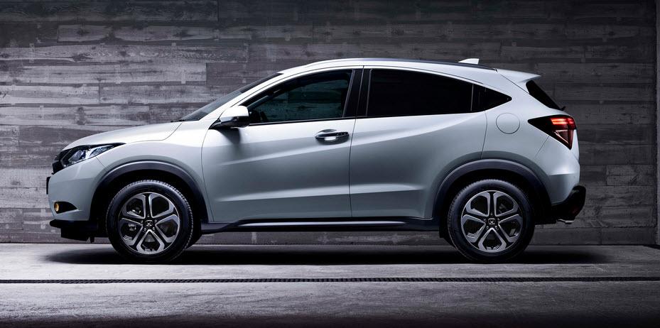 Обновленная модель «HR-V» от компании «Honda» (2016)