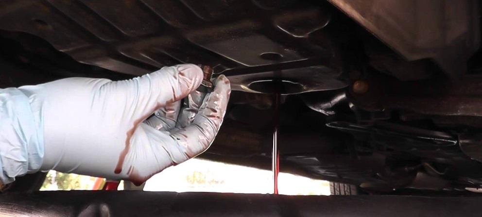 Обновление трансмиссионного масла для КПП типа автомат Хонда