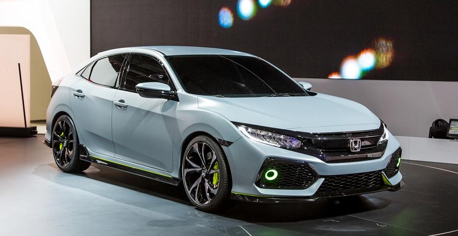 Десятое поколение Honda Civic Hatchback начнут продавать в 2017 году.