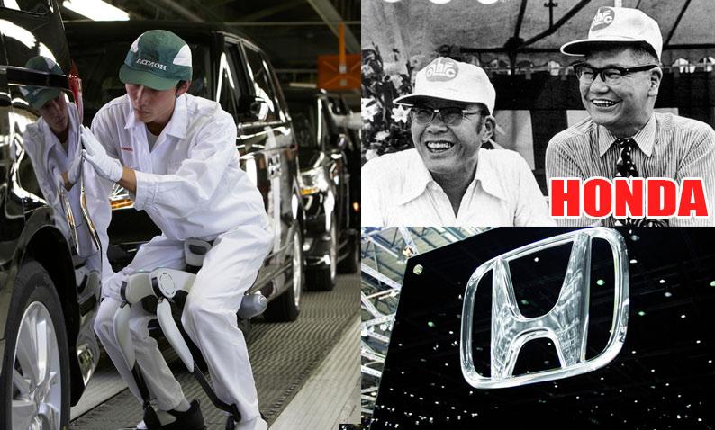 История автомобильного концерна Honda