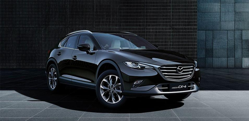 Компания Mazda представила новый купеобразный кроссовер CX4