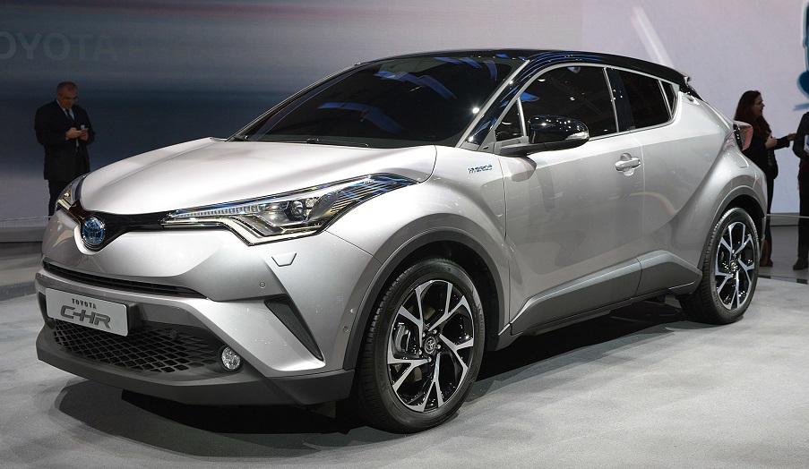 Toyota представила в Женеве, серийный кроссовер CHR