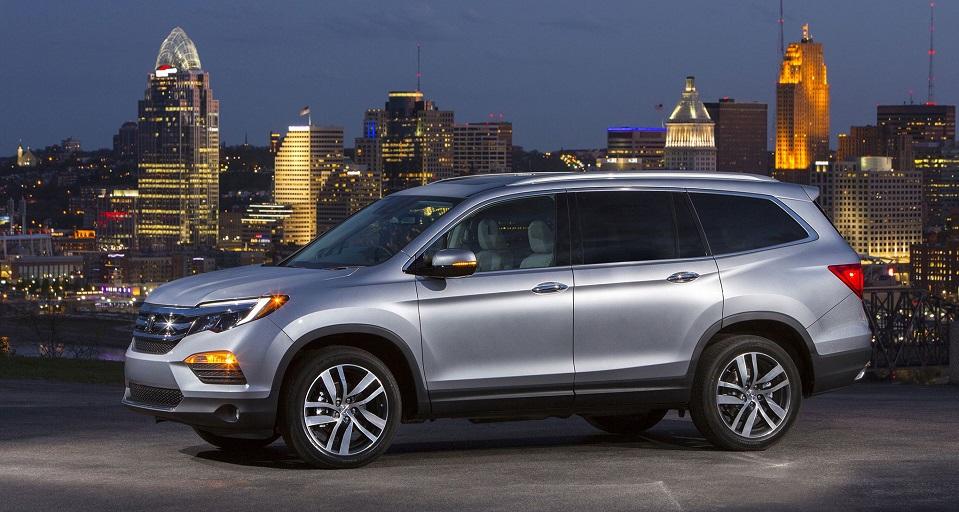 Honda объявила рублевые цены на новый Pilot