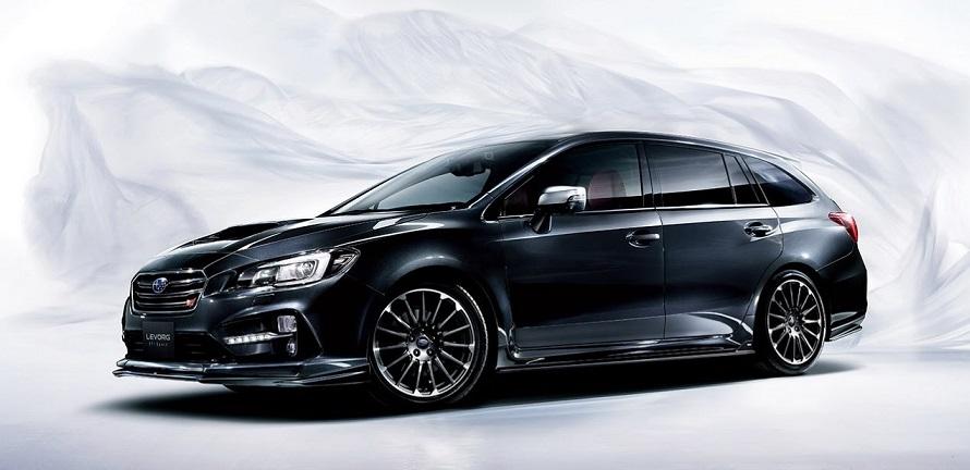 Компания Subaru официально представила универсал Levorg STI