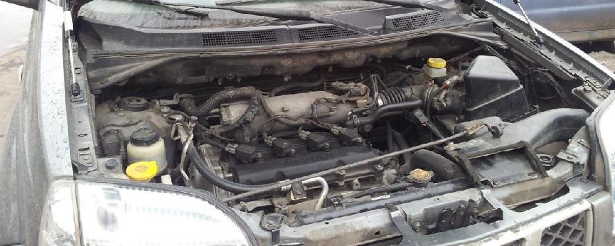 Замена цепи на Nissan X-Trail QR20 - Фотоотчет