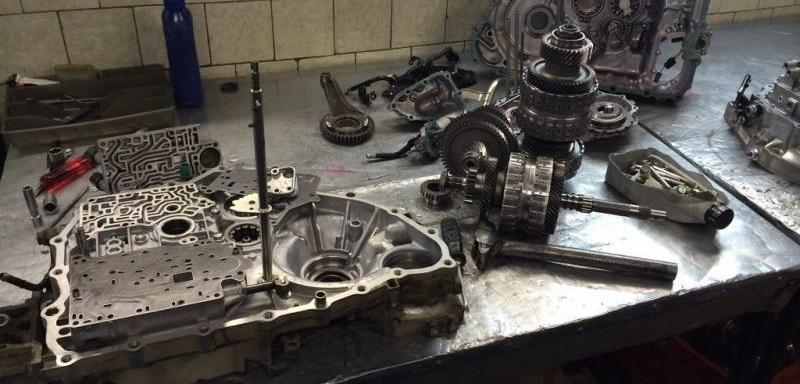 Ремонт автоматической коробки передач автомобиля Mazda