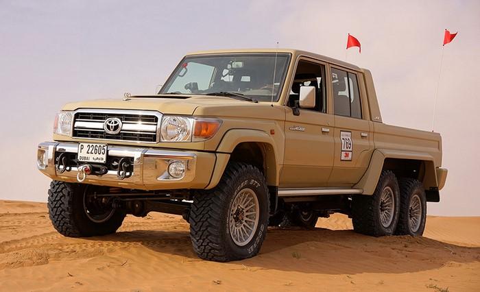 В Австралии начали выпуск Toyota Land Cruiser 6x6