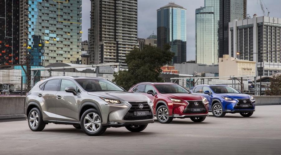 Lexus наращивает объем продаж в России