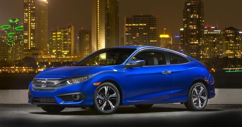 Honda Civic Coupe: самая высокая оценка безопасности