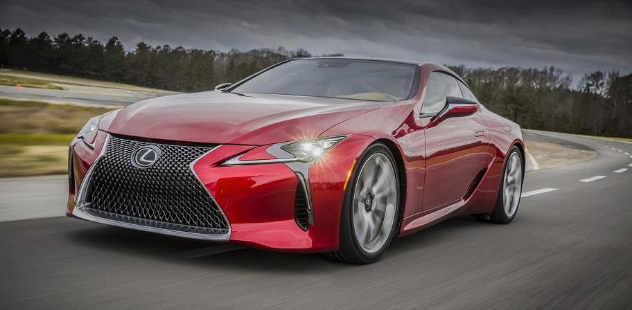 Lexus LC стоит ожидать в следующем году