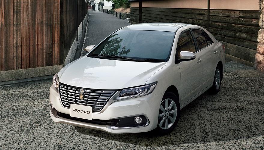 Компания Toyota представила обновленные седаны Premio и Allion