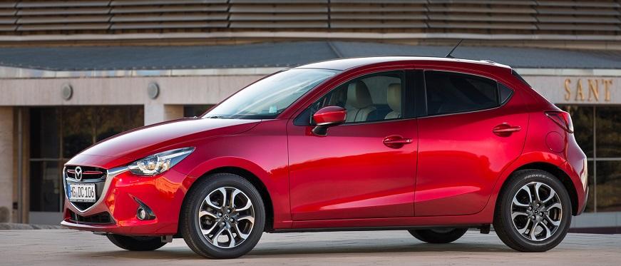 Mazda 2 side