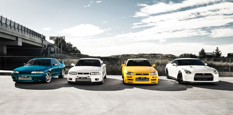 Эволюция «Годзиллы» (Nissan Skyline GT-R)