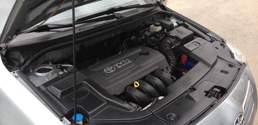 Замена радиатора охлаждения Toyota Avensis
