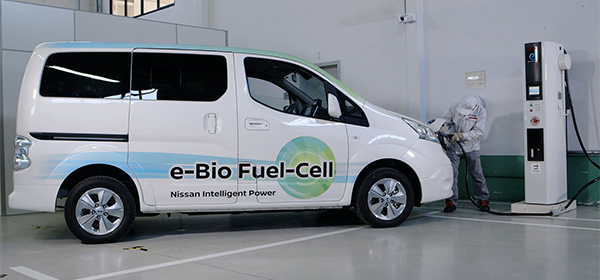 Nissan показала фургон на твердооксидном топливе