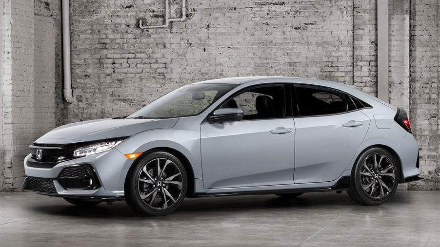Официальное фото нового хэтчбека Honda Civic 10 поколения