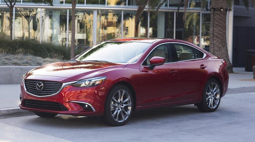 Mazda 6 будет представлена уже в 2017 году