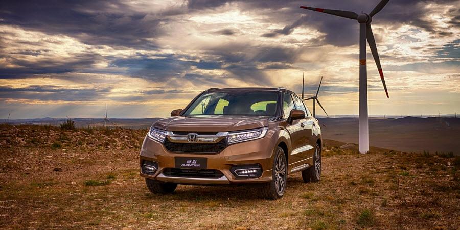 Honda Avancier 2016-2017 – японская новинка для китайского рынка