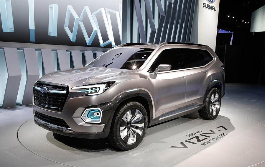 Компания Subaru готова представить свой самый большой автомобиль