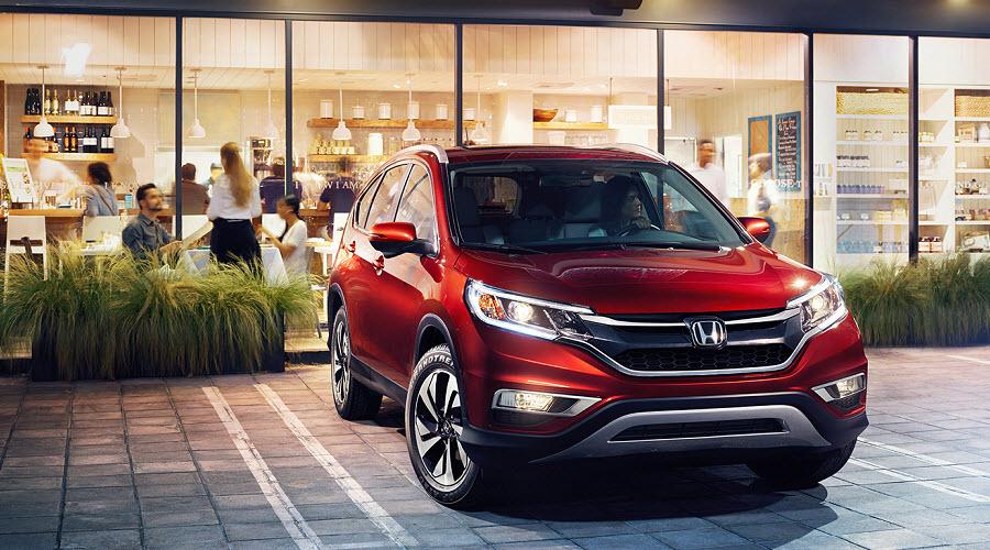 Российский рынок все же получит новый CR-V Honda