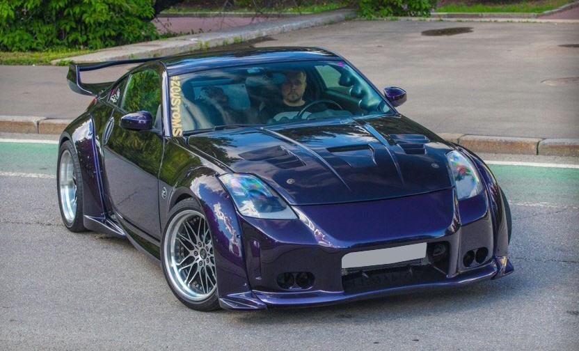Тюнинг Nissan 350Z: пиксели стали реальностью