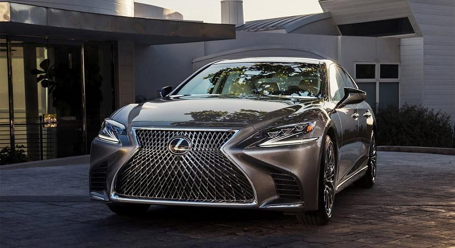 Новый Lexus LS 5 поколения