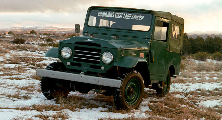 land cruiser BJ20