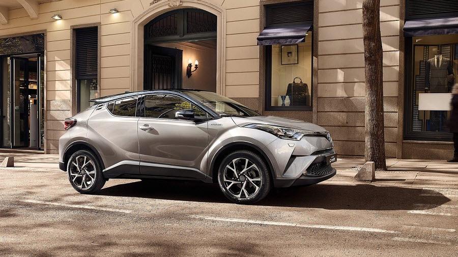Спрос на Toyota C-HR превысил рекордные отметки