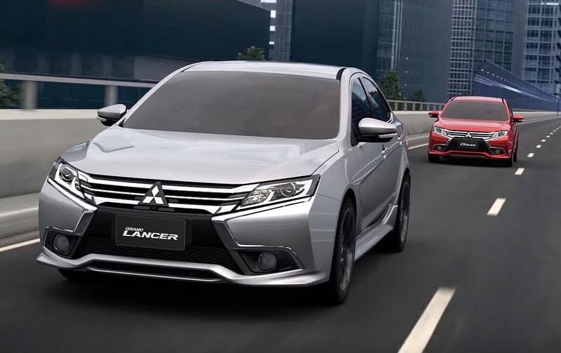 Обновленный Mitsubishi Grand Lancer