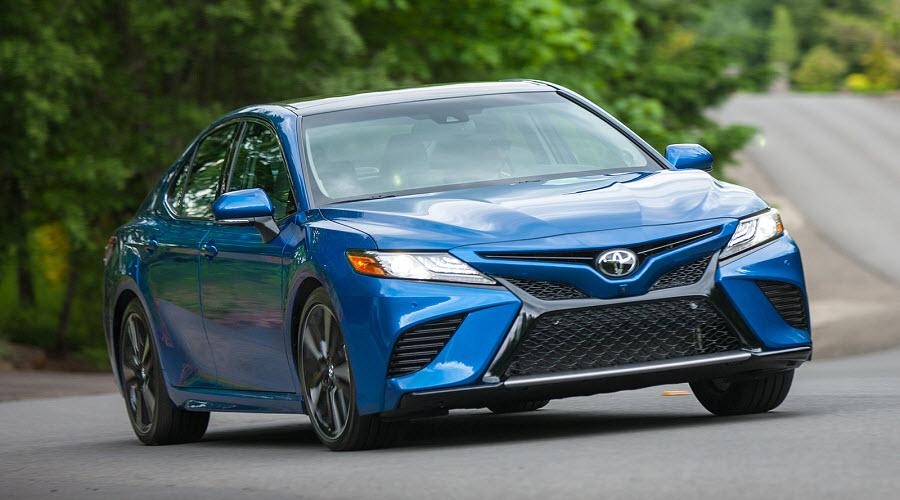 Toyota представила информацию о новой версии Camry