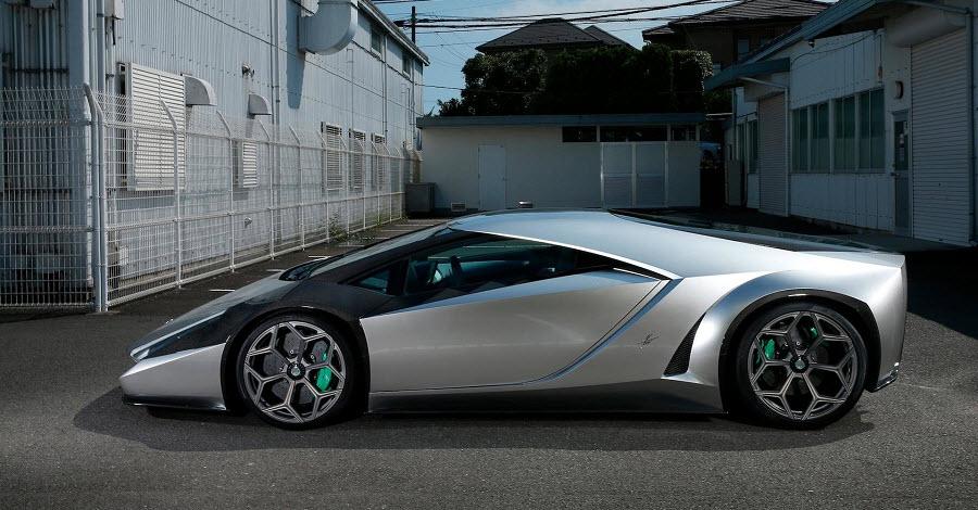 Новый ретро-суперкар от Ken Okuyama