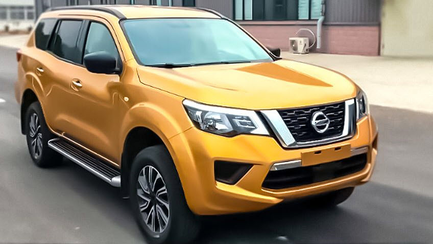 Nissan выпускает новенький рамный внедорожник